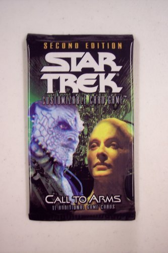 Star Trek 2nd Edition CCG Call To Arms Booster - Booster Star Pack Trek