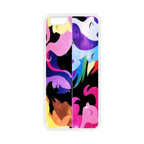 """Fayruz - iPhone 6 Rubber Cases, My Little Pony Hard Phone Cover for iPhone 6 4.7"""" F-i5G63"""