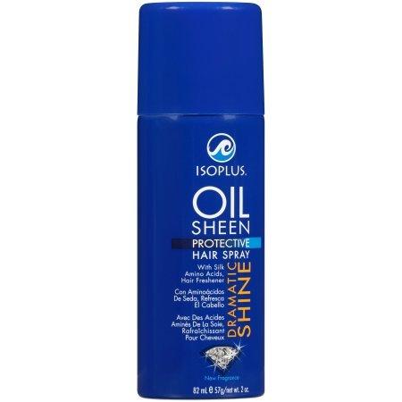 Isoplus Oil Sheen Hair Spray 7oz