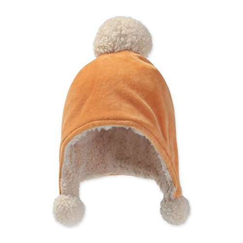 Zutano Girl's Velour Pom Pom Hat