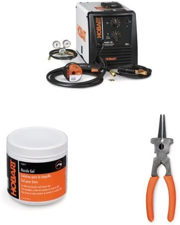 Handler MIG Welder with Welding Mig Accessory Nozzle Gel and Multi-Function Welding Pliers
