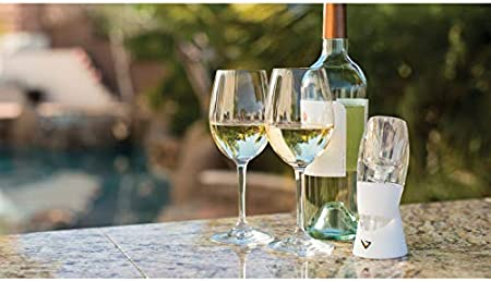 Vinturi Aireador, instantáneo, de Vino Blanco, Silicona