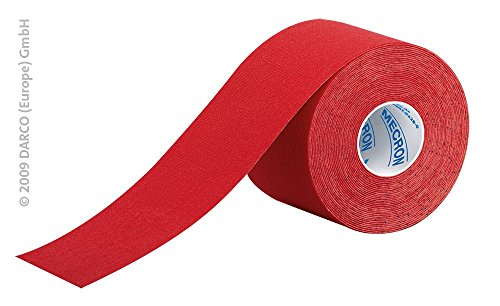 Kinesiology Tape 2 inches x 15ft - Red - 1 Roll from Complete Medical