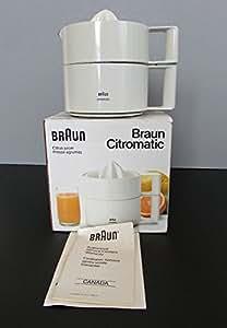 Braun MPZ-4 Citromatic Citrus Juicer