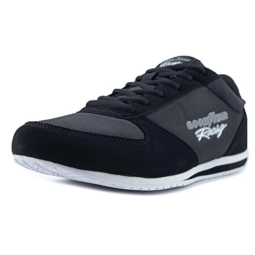 Goodyear Groove Men Round Toe Synthetic Black Sneakers (9)