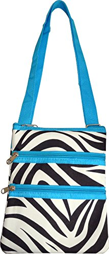 Small Cross Print body Women's Blue Zebra Fashion Bag Hipster WBUWSq