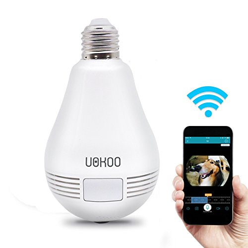 UOKOO 360-Degree Fisheye Panoramic Network Wireless Camera,