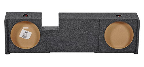 UnderSeat Downfire Dual 12'' Subwoofer Sub Box for 2000-2003 Ford F150 Xcab by Rockville