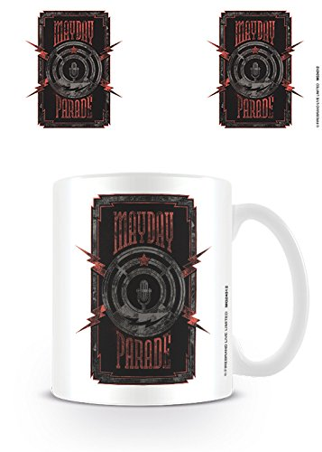 Mayday Parade Mic Ceramic Mug, Multicoloured, 7.9 x 11 x 9.3 cm