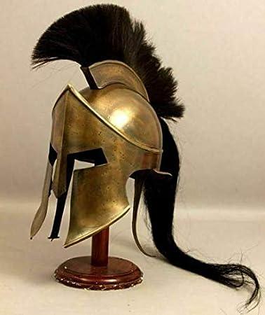 Copper Antique The New Antique Store King Leonidas Medieval Greek Armour Helmet 300 Movie Armor