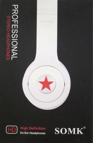 SOMK High Definition Stereo Headphones-black