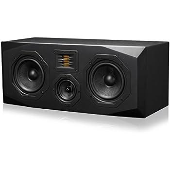 Emotiva Audio Surround Center Channel Home Speaker Set of 1 Black (C1)