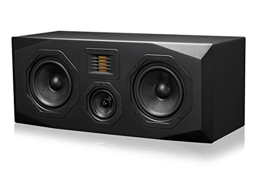 Emotiva Audio Surround Center Channel Home Speaker Set of 1 Black (C1) by Emotiva Audio