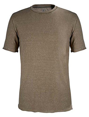Gramicci Mens Camura S/S Crew, Sahara Tan - Size: XL (Tan Plaid Backpack)