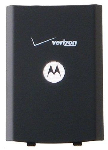 (Motorola KAHN4102A Standard Battery Door for Motorola W385 - Original OEM - Non-Retail Packaging - Black)