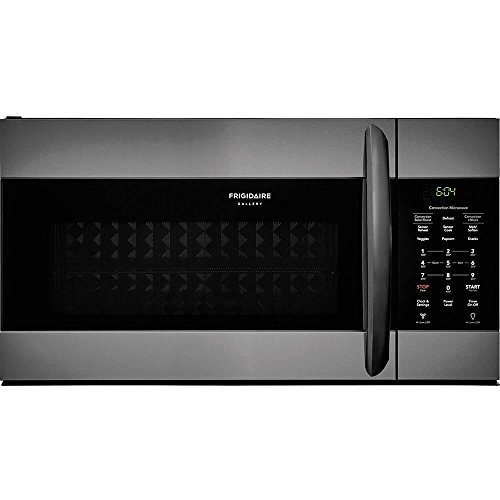 Frigidaire FGMV155CTD Gallery Series 30 Inch Over the Range Microwave Oven with 1.5 cu. ft. Capacity in Black Stainless Steel (Microwave Convection Frigidaire)