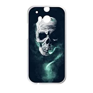 HTC One M8 Cell Phone Case White Soul Eater AOL Designer Cell Phone Cases