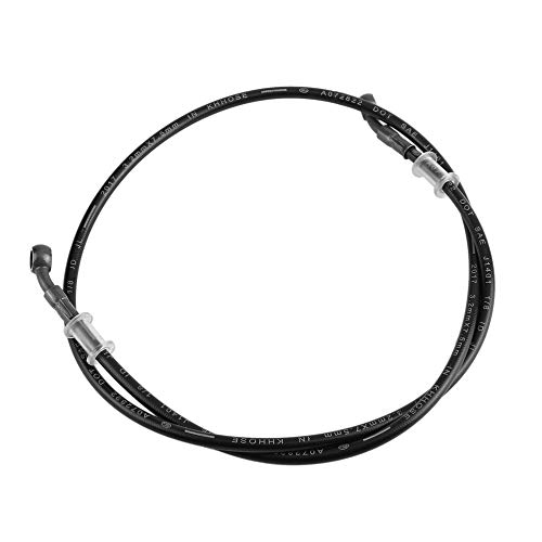 Single Pipe Clutch - Motorcycle Braided Steel Brake Clutch Oil Hose Pipe, Universal Motorcycle Brake Pipe Braided Steel Hydraulic Reinforce Brake Clutch Oil Hose Line Pipe Tube for Racing Dirt Bike