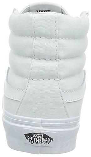 Bestelwagen Unisex Sk8-hi Slanke Dames Skate Schoen (canvas) True White