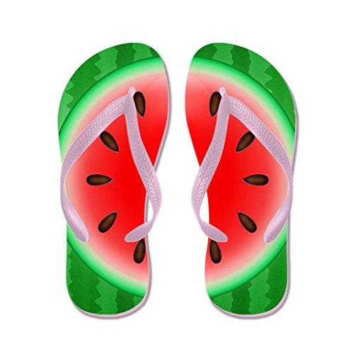 - Lplpol Watermelon Slice Sandals Flip Flops for Kids M with Pink Flip Flops Belt