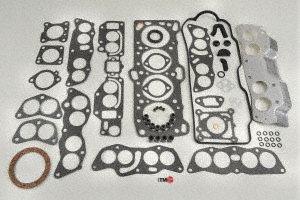 Ram 50 Engine Head Gasket (ITM Engine Components 09-10323 Cylinder Head Gasket Set for 1985-1992 Mitsubishi/Hyundai 2.4L L4 Galant, Sonata)