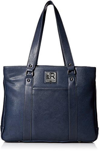 Laptop Compartment Bag Leather Triple - Kenneth Cole Reaction Hit Women's Pebbled Faux Leather Triple Compartment 15