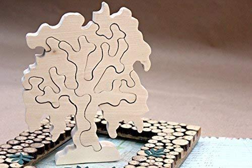 Christmas toys Eco toys gift Wood games Kids gift Montessori toys Wooden puzzle Wooden toys Wooden trees