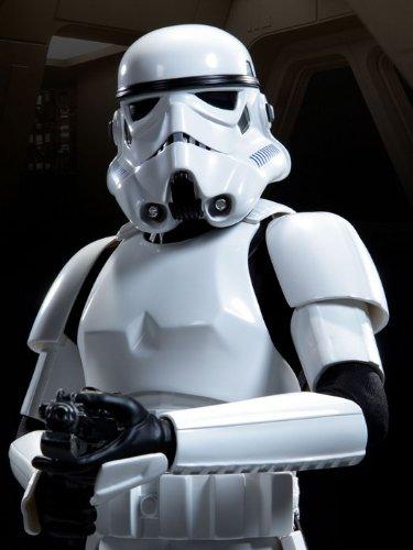Stormtrooper Soldier Weapon Star Wars Art 24x18 Print Poster]()