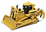 Caterpillar D8R Series II Track-Type Tractor, Yellow - Norscot 55099 - 1/50 Scale Diecast Model Toy Car