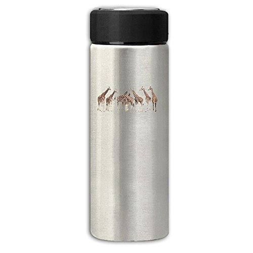 Vacuum Insulated Stainless Steel Series A Group Of Giraffe Thermos Cup, 12 Oz One (Stanley Cup Womens Halloween Costume)