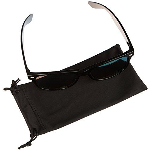 Ultrasport Lunettes de soleil Wave Noir/Jaune