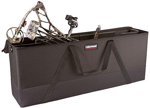 Lakewood Products Bowfile Elite Wide Series Case, Black, Large/41