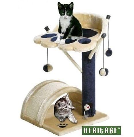 HERITAGE TREE Poste de gato árbol rascador centro de actividad