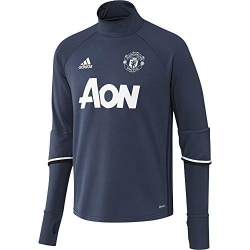 Adidas shirt maruni Top Manchester Trg azumin United Homme blatiz Sweat Bleu XwrBwUxSq