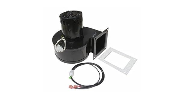 80622 - convección distribución del ventilador ventilador para King Ashley pellet estufa: Amazon.es: Bricolaje y herramientas