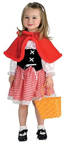 Baby/Toddler Red Riding Hood Halloween Costume