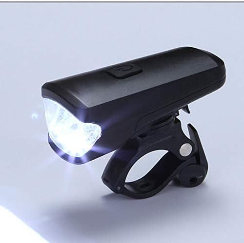 自転車 ライト防水 防振 USB充電式高輝度 3モード点灯 軽量 でポータブル 自転車 ライト 屋外照明、非常照明、自転車照明に適しています