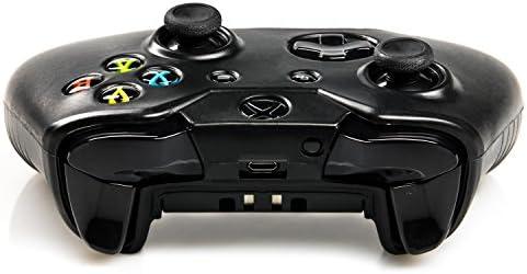 giZmoZ n gadgetZ GNG Funda de Silicona Rugosa antideslizamiento de GNG para Mando de Xbox One (Negro): Amazon.es: Electrónica