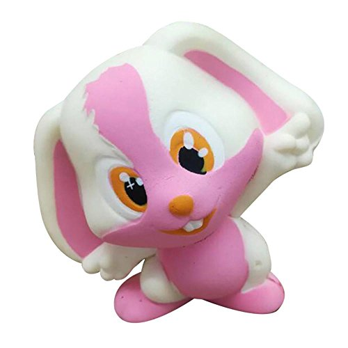 Joykith Stress Reliever Soft Rabbit Cartoon Squishy Slow Rising Squeeze Stress Reliever Toy (Two Person Hot Dog Costume)