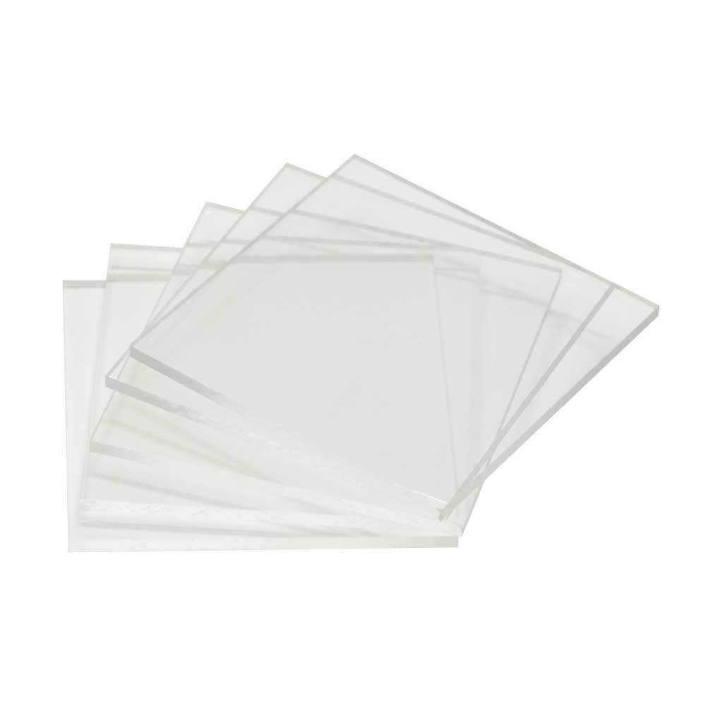 Pack of 5x7 Crystal Clear Acrylic Painting