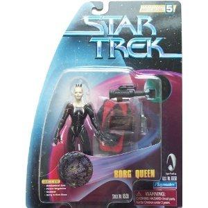"Star Trek: Warp Factor 5 Series - 4.5"" BORG QUEEN Action Figure - PLAYMATES TOYS"