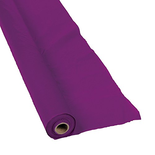 Fun Express - Plum Tablecloth Roll (40
