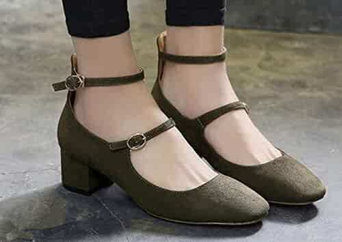 2f9391194cfb1 Shopping Buckle - Green - Flats - Shoes - Women - Clothing, Shoes ...