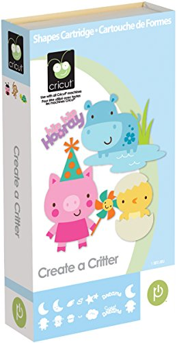 Cricut Cartridge, Create a Critter by Cricut