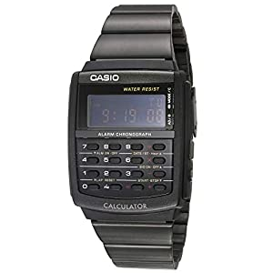 Reloj calculadora Casio Vintage Collection negro