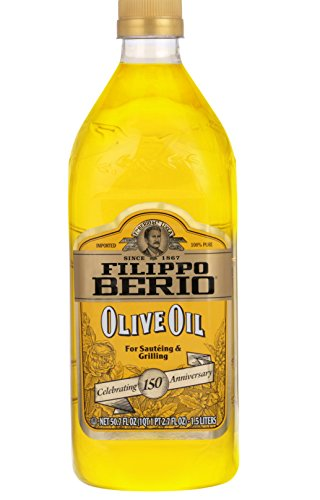 Filippo Berio Olive Oil, 50.7 Ounce (Difference Between Extra Virgin And Pure Olive Oil)