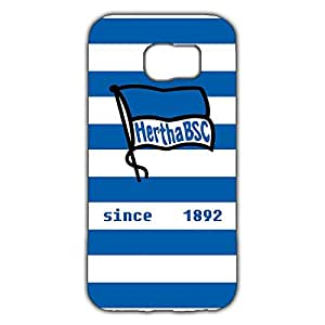 Famous Design FC Hertha BSC Theme Football Club Phone Case Cover For Samsung Galaxy S6 3D Plastic Phone Case