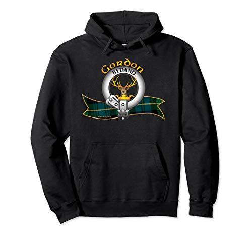 Scottish Gordon Clan Tartan Crest Issuant from a crest