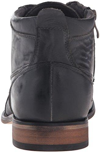 Steve Madden Jabbar Ankle Boots Herren Schuhe Dunkelgrau