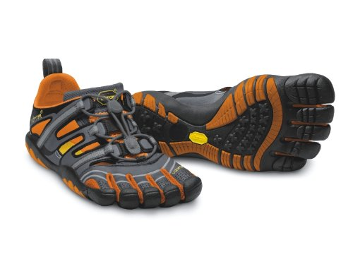 Vibram Fivefingers TREKSPORT SANDALS W (BLACK/DARK GREY) kaZicrefl